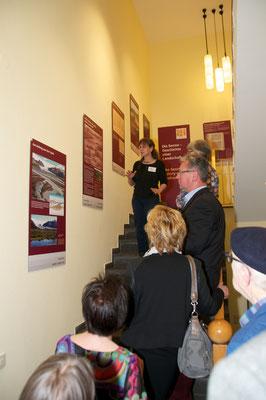 Führung Senne-Ausstellung hier Zeitreise Susanne Kurz