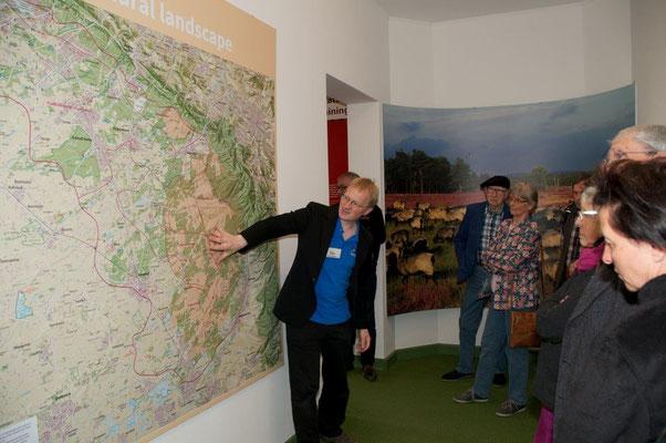 Führung durch die Senne-Ausstellung d. Dirk Tornede