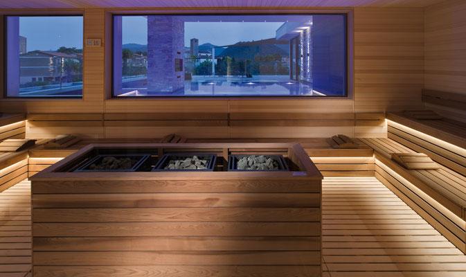 Sauna della RoofTop54