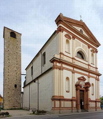 L'Oratorio della Madonna Nera, e il campanile del 200