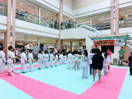 第2回 武道・格闘技交流フェスティバル 開会式