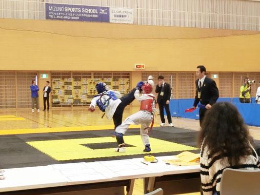 第8回 首都圏テコンドー選手権大会 組手3