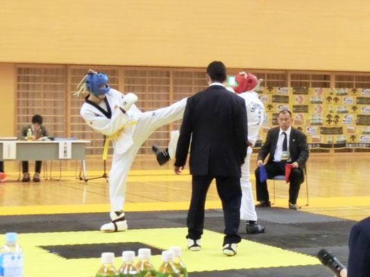 第8回 首都圏テコンドー選手権大会 組手5