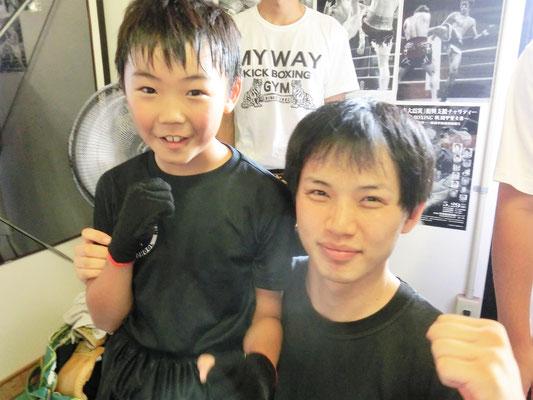 アマチュアキックボクシング ワンマッチ定期戦 1R KO勝ち