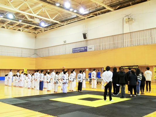 第8回 首都圏テコンドー選手権大会 開会式