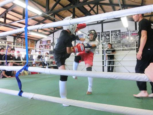 アマチュアキックボクシング ワンマッチ定期戦 試合