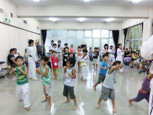 韓国文化交流イベント テコンドー体験