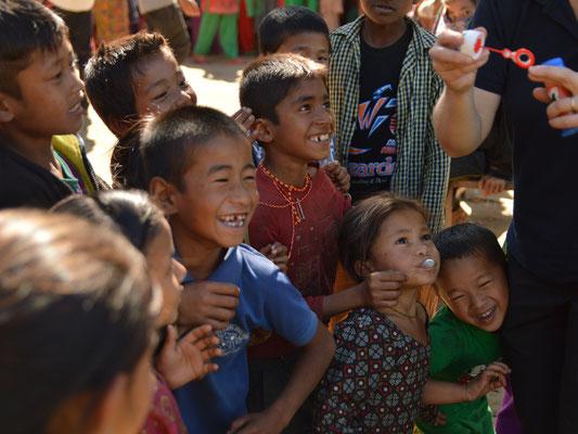 Die Kinder aus Nepal