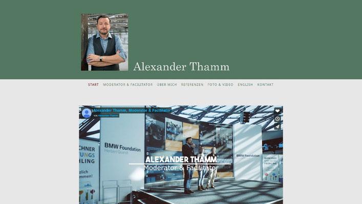 Webdesign Moderator, Schauspieler