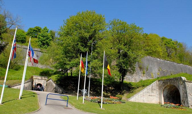 L'entrée de la citadelle de Verdun