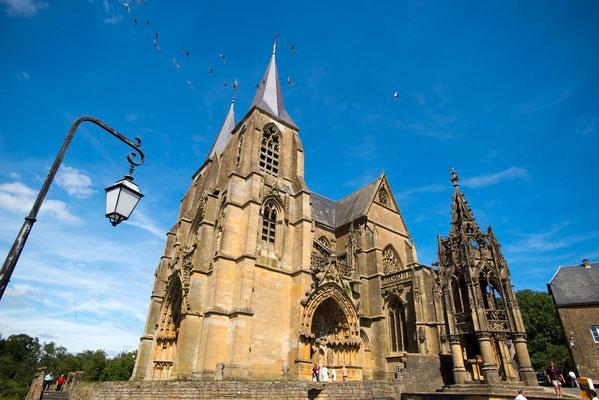 La basilique Notre Dame d'Avioth et sa célèbre recevresse