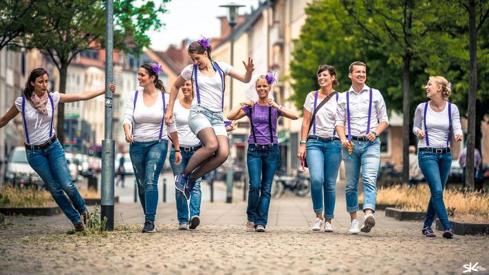 """Junggesellinnenabschied """"JGA"""" Fotoshooting in Hannover mit dem Fotografen Simon Knösel"""