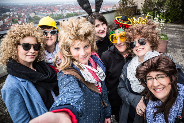 """Junggesellinnenabschied """"JGA"""" Fotoshooting in Hannover City"""