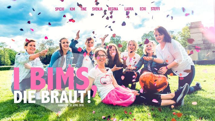 Junggesellinnenabschied Gruppenfotos Hannover Das perfekte Geschenk. JGA Fotos by Simon Knösel