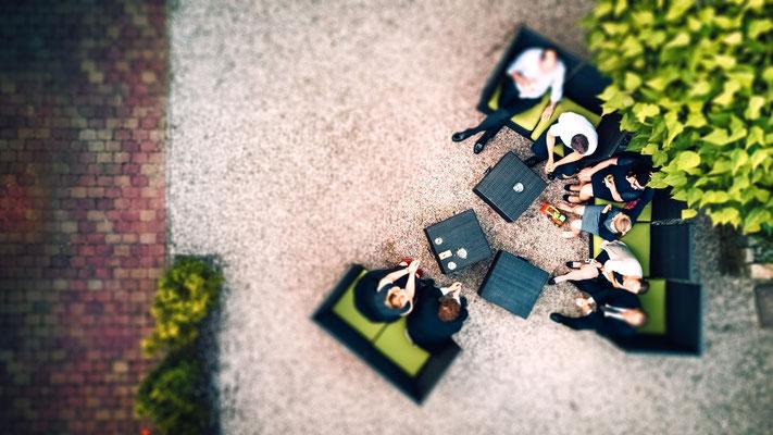 Hochzeitsfotografie mit Drohne