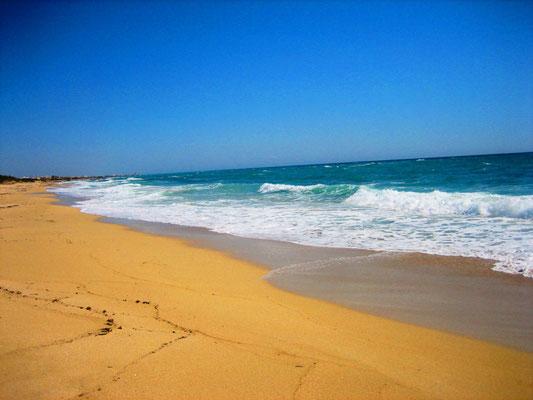 . . . das Ionische Meer / 5 km vom Landgut entfernt