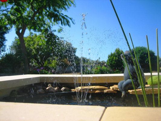 Brunnen Südterrasse