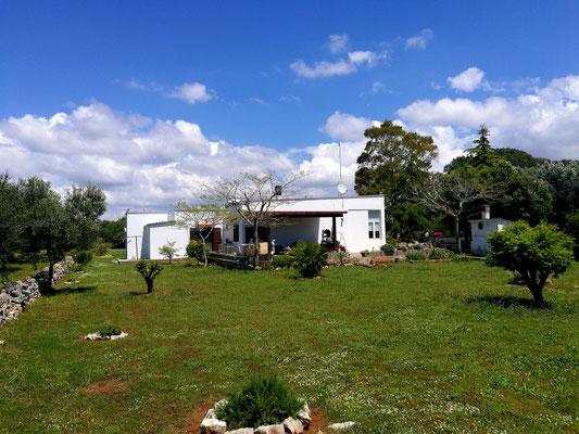 Südansicht Landhaus