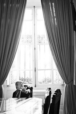 Andrés Zaldívar, political. QUE PASA magazine