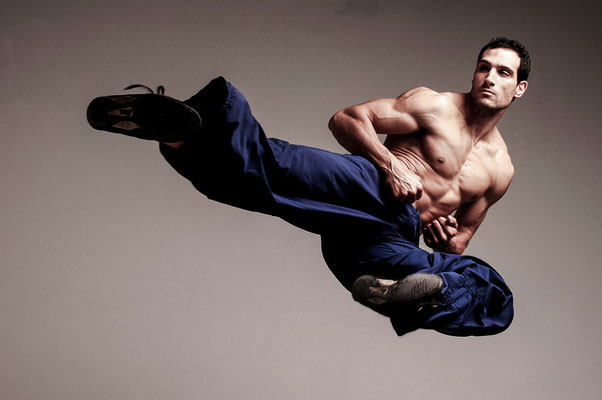 Marco Zaror, martial artist. Paula Magazine