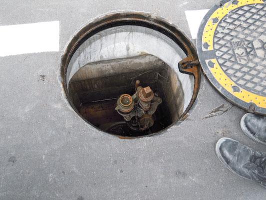スタンドパイプの給水栓