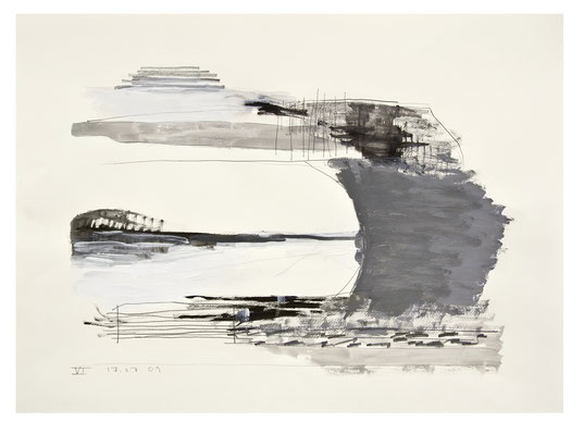 VI, 2009   Acryl, Bleistift/Papier