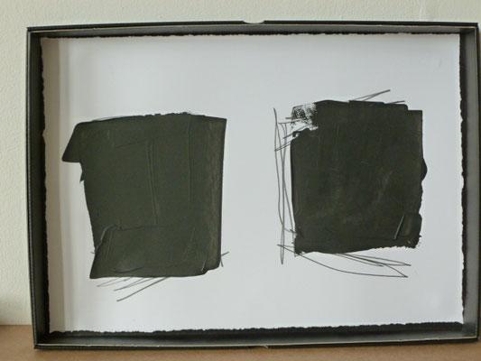 UE 102, ohne Jahr, Gouache, 30 x 41,8cm
