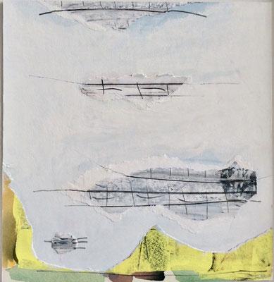 UE 271, ohne Jahr,  Collage 23,2 x 22,5cm