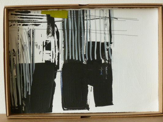 UE 135, ohne Jahr  Acryl/ Bleistift/ Papier  21 x 30,4cm