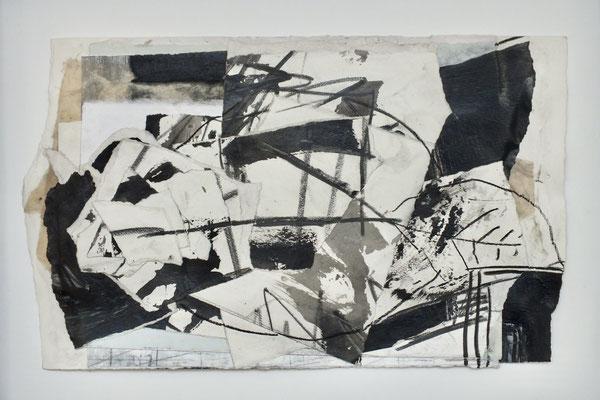 UE 174, ohne Jahr   Collage 24 x 39cm
