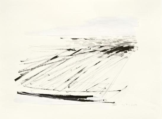 III, 2009   Acryl, Bleistift/Papier