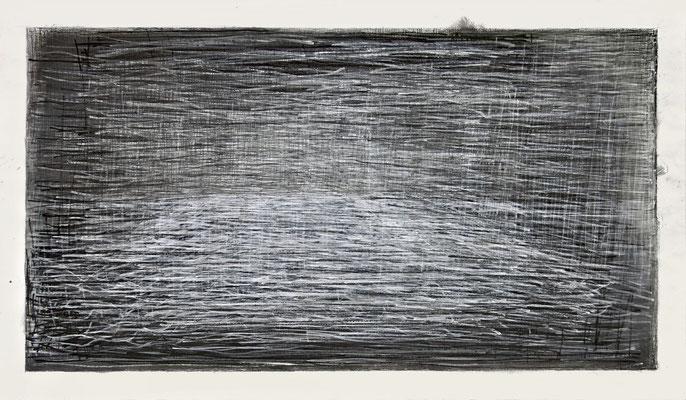 Ohne Titel, 2013 Bleistift auf Papier 71,5 x 124cm