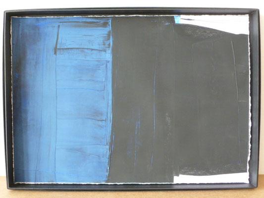 UE 54, ohne Jahr, Gouache, 31,8 x 45,3cm