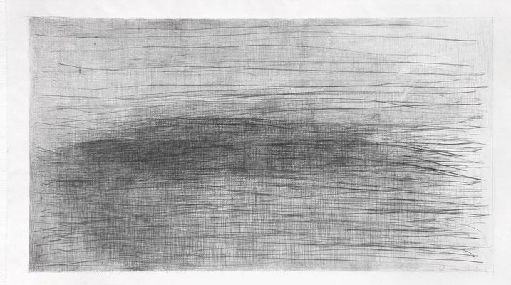 Ohne Titel, 2013, Bleistift auf Papier   71,5 x 125cm