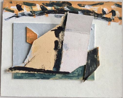 UE 272, ohne Jahr,   Collage   15,5 x 20cm