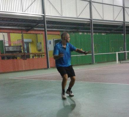 Christophe au Tennis