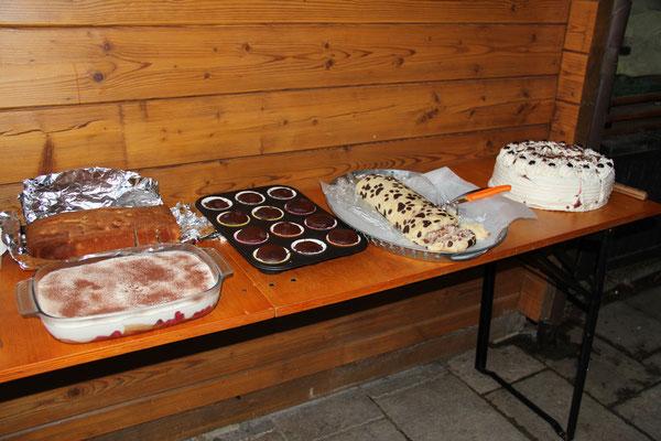 Megafeins Dessertbuffet