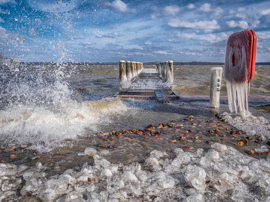 "2019 Januar ""Wellen und Eis""©Kerstin Liborius"