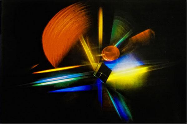 "2012 Dezember, ""spektral""©Hannelore Leck"