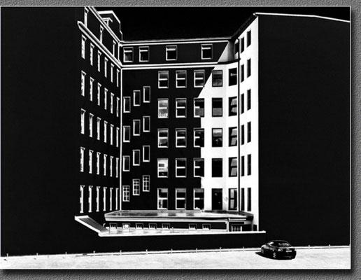 """2012 Februar, """"Schwarz/Weiss""""©Christa Johannsen"""