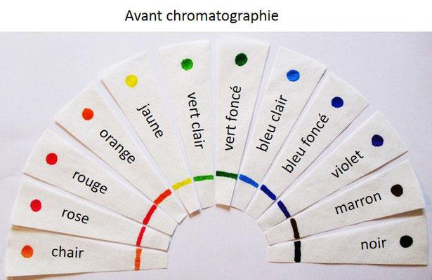 Separation Des Couleurs Par Chromatographie 1 2 3 Couleurs Experiences Scientifiques Et Boutique Sur La Couleur
