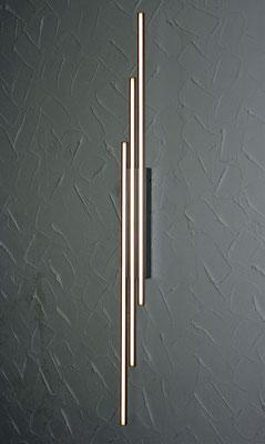 LED-Leuchte Spago, Längen der Leisten: 350-1020mm, warmweiß 2700K, 24V DC 9,6W/m, U-Profil chrommatt