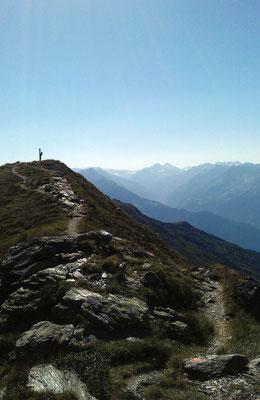 Weg zur Kreuzspitze