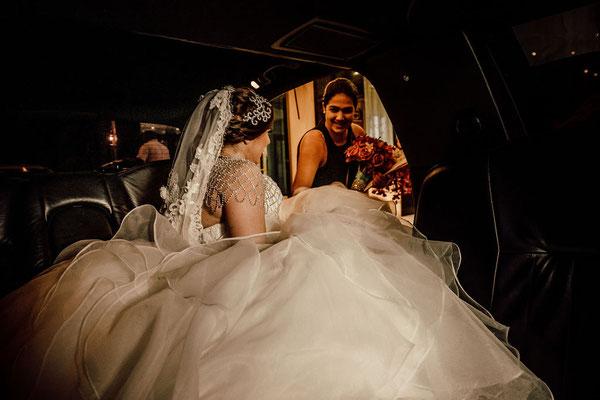 limosina en panamá para boda