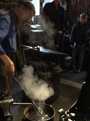 VACANCES D'AUTOMNE 2019 à la Tzintre à Charmey, à la forge