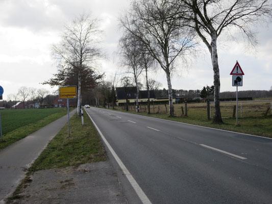 L 354 zwischen Emtinghausen (Kreis Verden) und Syke-Gödesdorf (Kreis Diepholz) : Trotz Kurven und diverser Unfälle darf mit Tempo 100 gefahren werden.