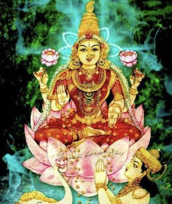 Goddess Sri Mahalakshmi, Navaratri