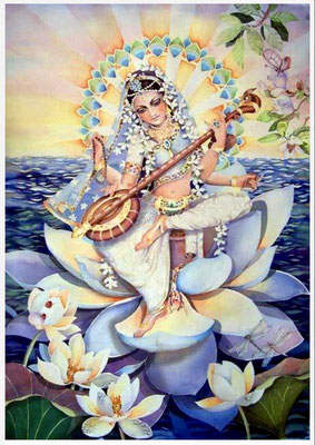 Goddess Sri Saraswathi, Navaratri