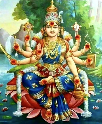 Goddess Sri Durga, Navaratri