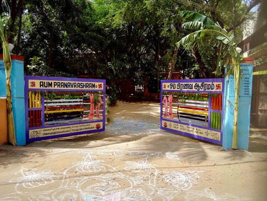 Ashram Entrance Gate